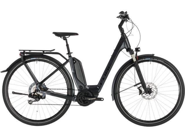 Cube Touring Hybrid SL 500 KIOX E-trekkingcykel Easy Entry sort (2019)   City